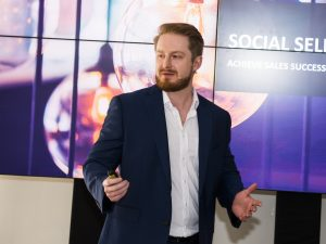 Dan Johnston, Social Selling Trainer at Tack TMI